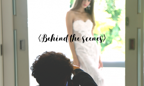 BTS : Gardens of Mottisfont #TWCgowns collection